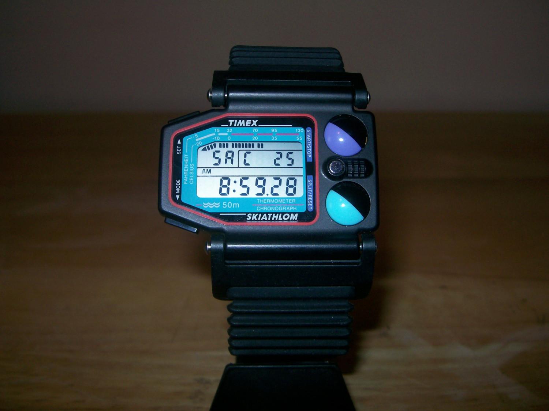 996a9af11cb1 VINTAGE TIMEX SKIATHLOM WATCH. Posted on ...
